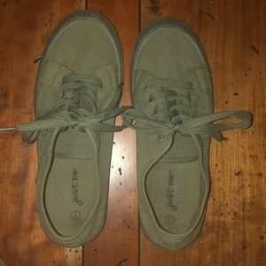 Army Green Sneakers